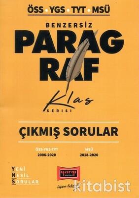 Yargı Yayınları - ÖSS-YGS-TYT-MSÜ Klas Serisi Paragraf Çıkmış Sorula