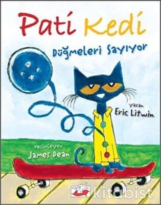 Uçan Fil Yayınları - Pati Kedi Düğmeleri Sayıyor