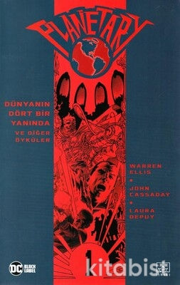 İthaki Yayınları - Planetary-1 Dünyanın Dört Bir Yanında ve Diğer Öyküler