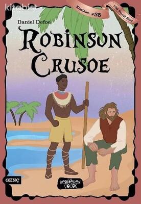 Yediveren Çocuk - Robinson Crusoe - 100 Temel Eser - Klasikler 35