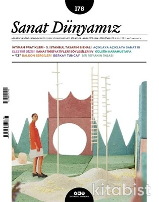 Yapıkredi Yayınları - Sanat Dünyamız Sayı 178/Eylül-Ekim 2020