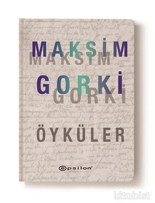 Epsilon Yayınları - Seçme Öyküler(Maksim Gorki)