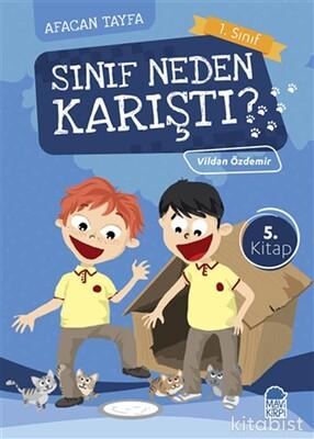 Mavi Kirpi Kitap - Sınıf Neden Karıştı?-Afacan Tayfa 1. Sınıf Okuma Kitabı