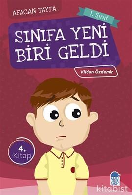Mavi Kirpi Kitap - Sınıfa Yeni Biri Geldi-Afacan Tayfa 1. Sınıf Okuma Kitabı