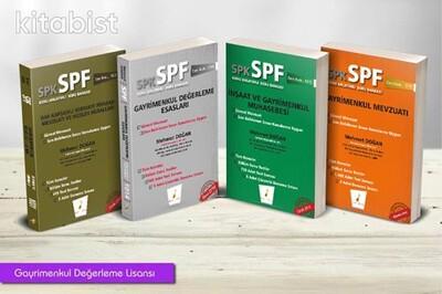 Pelikan Yayınları - SPK - SPF Gayrimenkul Değerleme Lisansı (4 Kitap)