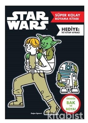 Doğan Egmont Yayınları - Star Wars Süper Kolay Boyama Kitabı