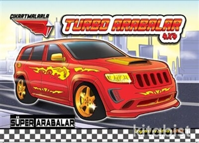 Koloni Yayınları - Süper Arabalar - Turbo Arabalar 4x4