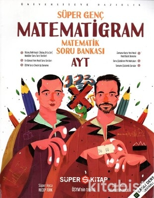 Süper Kitap - Süper Genç AYT Matematigram Matematik Soru Bankası