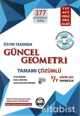 Yüzdeyüz Yayınları - Tamamı Çözümlü Güncel Geometri