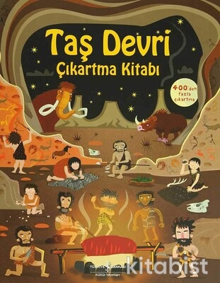 İş Bankası Yayınları - Taş Devri - Çıkartma Kitabı