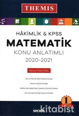 Seçkin Yayınları - Hakimlik&KPSS 2020-2021 Matematik Konu Anlatımlı