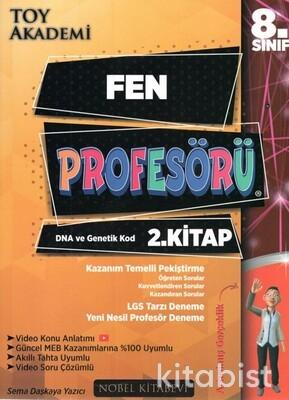 Nobel Kitabevi - Toy Akademi 8.Sınıf LGS Fen Profesörü 2.Kitap