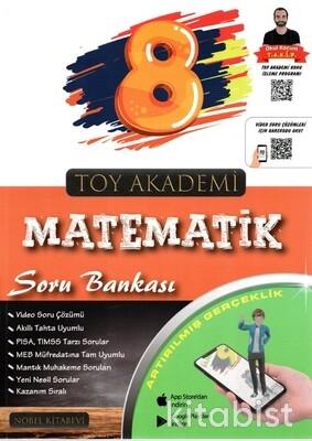 Nobel Kitabevi - Toy Akademi 8.Sınıf LGS Matematik Soru Bankası