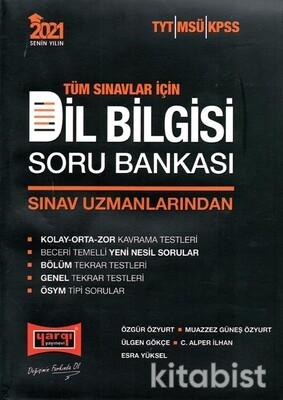 Yargı Yayınları - Tüm Sınavlar İçin 2021 Dil Bilgisi Soru Bankası