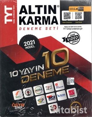 Altın Karma Yayınları - TYT 10 Yayın 10 Farklı Deneme Seti - 2021