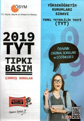 Yargı Yayınları - TYT 2019 Tıpkı Basım Çıkmış Sorular