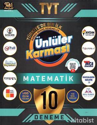 Ünlüler Yayınları - TYT 2021 Ünlüler Karması Matematik 10 lu Deneme
