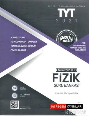 Pegem Yayınları - TYT 2021 Yeni Nesil Fizik Soru Bankası