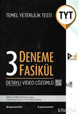 Papyon Yayınları - TYT 3'lü Deneme Sınavı