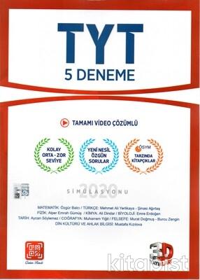 3D Yayınları - TYT 5'li Deneme Sınavı - 2021