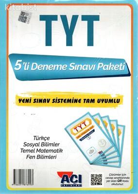 Açı Yayınları - TYT 5'li Paket Deneme Sınavı