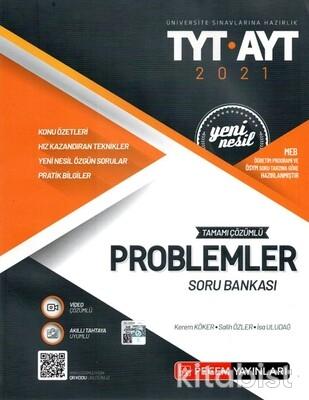 Pegem Yayınları - TYT-AYT Tamamı Çözümlü Problemler Soru Bankası - 2021