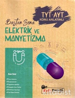 Kafadengi Yayınları - TYT-AYT Baştan Sona Elektrik ve Manyetizma Konu Anlatımlı