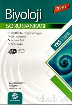 Bilgi Sarmal Yayınları - TYT-AYT Biyoloji Soru Bankası