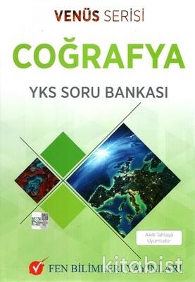 Fen Bilimleri Yayınları - TYT-AYT Coğrafya Soru Bankası Venüs Serisi