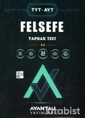 Avantaj Yayınları - TYT-AYT Felsefe Konu Kazanım Yaprak Test (8 Öğrencilik)