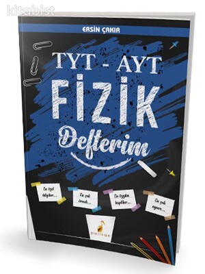 Pelikan Yayınları - TYT - AYT Fizik Defterim