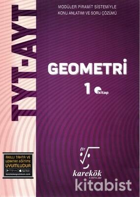 Karekök Yayınları - TYT-AYT Geometri 1.Kitap MPS Konu Anlatımlı
