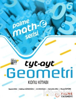 Palme Yayınları - TYT-AYT Geometri Math-e Serisi Konu Kitabı