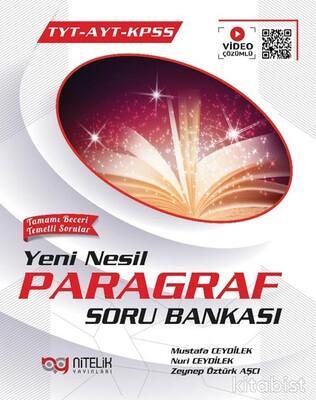Nitelik Yayınları - TYT-AYT-KPSS Yeni Nesil Paragraf Soru Bankası