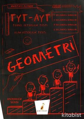 Pelikan Yayınları - TYT-AYT Merdiven Serisi Geometri Soru Bankası