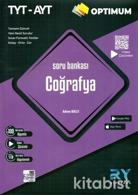Referans Yayınları - TYT-AYT Optimum Coğrafya Soru Bankası