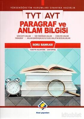 Final Yayınları - TYT-AYT Paragraf ve Anlam Bilgisi Soru Bankası