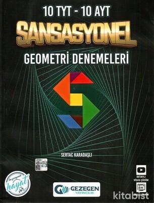 Gezegen Yayınları - TYT-AYT Sansasyonel Geometri Denemeleri (10 TYT-10 AYT)