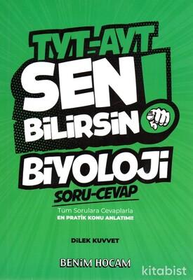 Benim Hocam Yayınları - TYT-AYT Sen Bilirsin! Biyoloji Soru/Cevap