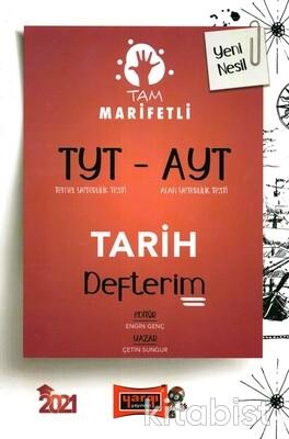 Yargı Yayınları - TYT-AYT Tam Marifetli Tarih Defterim