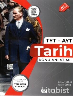 Nitelik Yayınları - TYT-AYT Tarih Konu Anlatımlı