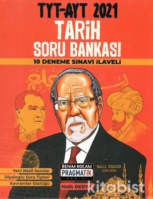 Benim Hocam Yayınları - TYT-AYT Tarih Soru Bankası Pragmatik Serisi - 2021