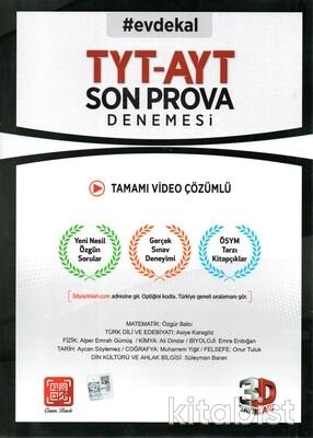 3D Yayınları - TYT/AYT Video Çözümlü Son Prova Denemesi