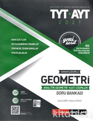 Pegem Yayınları - TYT-AYT Yeni Nesil Geometri-Analitik Geometri-Katı Cisimler Soru Bankası - 2021