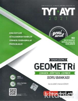 Pegem Yayınları - TYT-AYT Yeni Nesil Geometri-Çokgen-Dörtgen-Çember Soru Bankası - 2021
