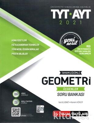 Pegem Yayınları - TYT-AYT Yeni Nesil Geometri-Üçgenler Soru Bankası - 2021
