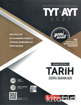 Pegem Yayınları - TYT-AYT Yeni Nesil Tarih Soru Bankası - 2021