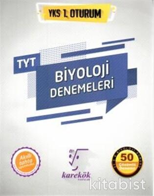 Karekök Yayınları - TYT Biyoloji 50'li Deneme Sınavı