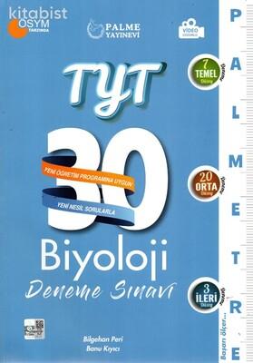 Palme Yayınları - TYT Biyoloji Palmetre 30 Lu Deneme Sınavı
