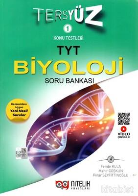Nitelik Yayınları - TYT Biyoloji Tersyüz Soru Bankası